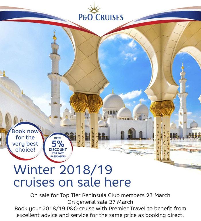 P&O 2018/19 Cruise