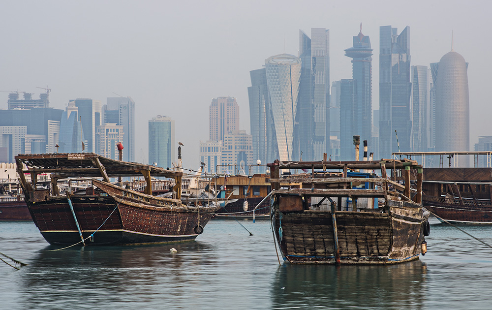 Dhows Cityscape