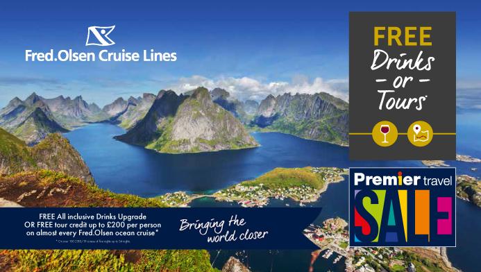 Fred Olsen 2019 cruises