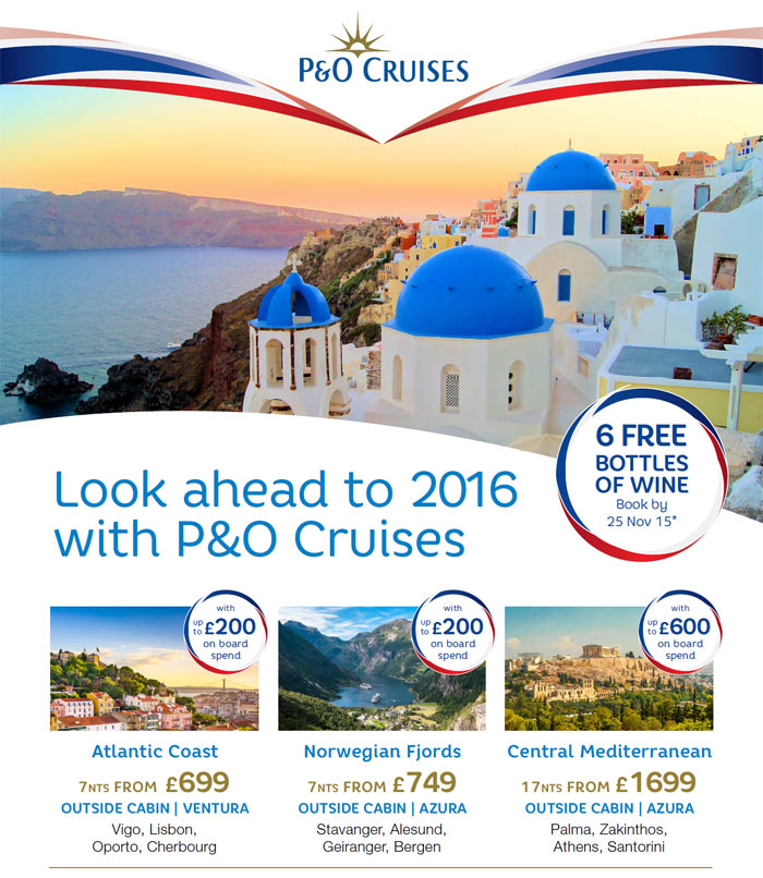 P&O Cruises - Sunshine