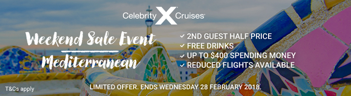 Celebrity Weekend Offer